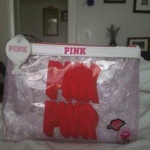 NWT VS PINK COSMETIC/ MAKE-UP BAG